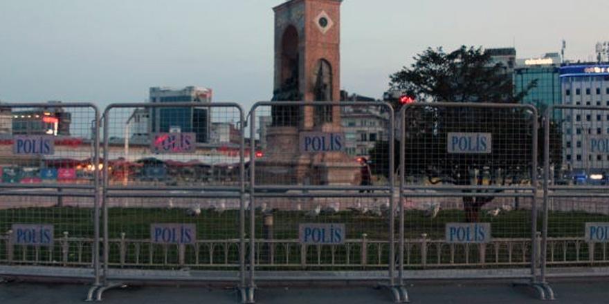 İstanbul'da 1 Mayıs ablukası