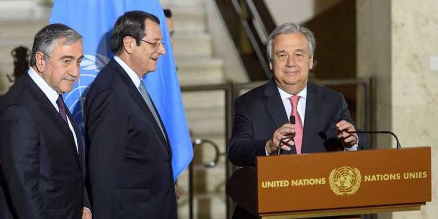 Akıncı-Guterres görüşmesi erkene alındı