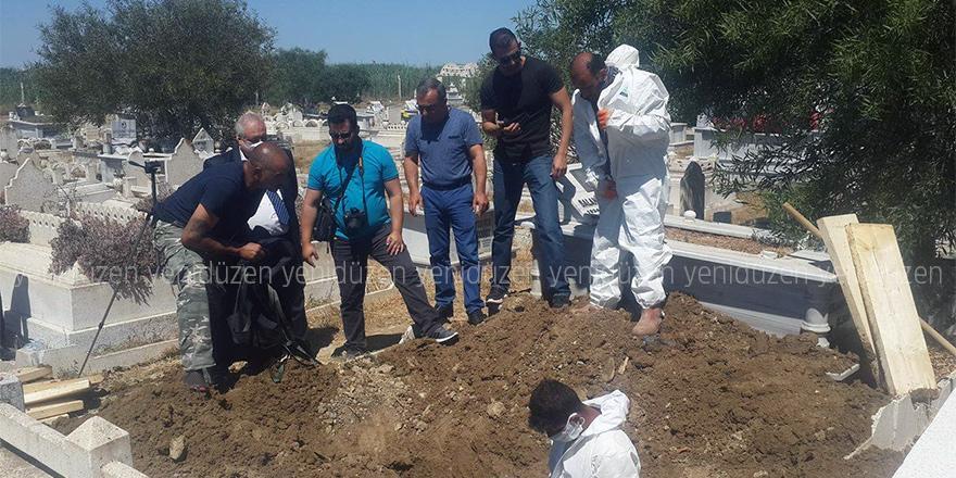 Akile Vardan'ın mezarı açıldı