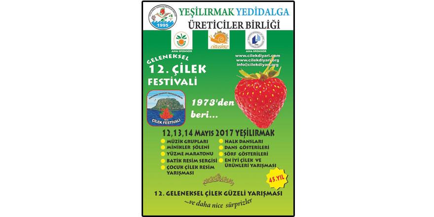Geleneksel Çilek Festivali bugün başlıyor