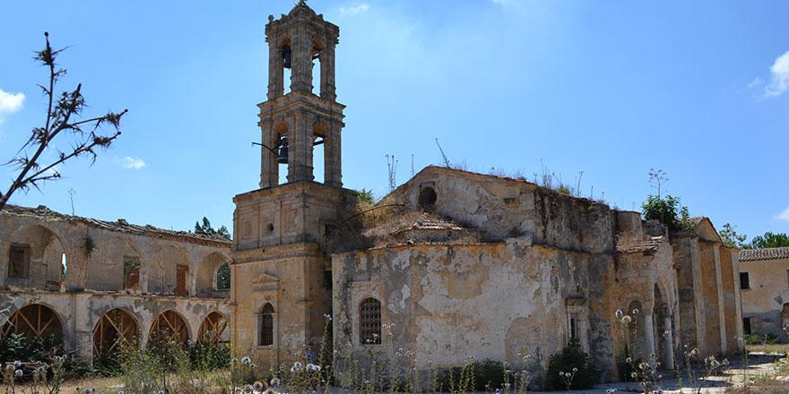 Agios Panteleimonas Manastırı koruma çalışmalarının ilk etabı tamamlandı