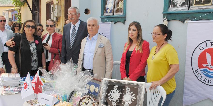Girne Belediyesi 'İpeğin Yolculuğu' etkinliğine katıldı