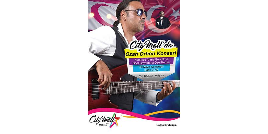 Ozan Orhon City Mall'da konser verecek