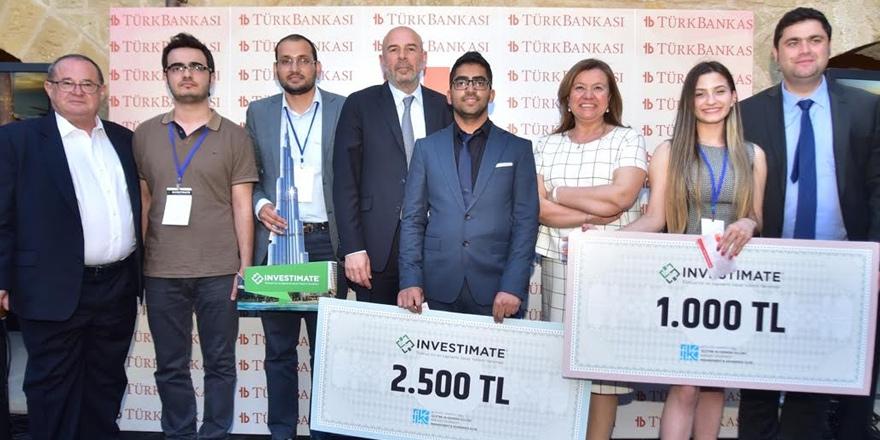 Sanal Yatırım Yarışması'nın KKTC finalinde ödüller sahiplerini buldu