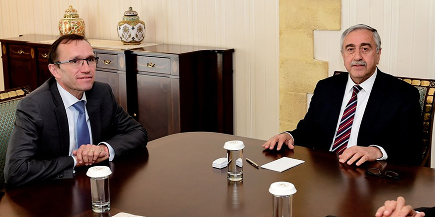 Mustafa Akıncı, Eide'yi kabul edecek