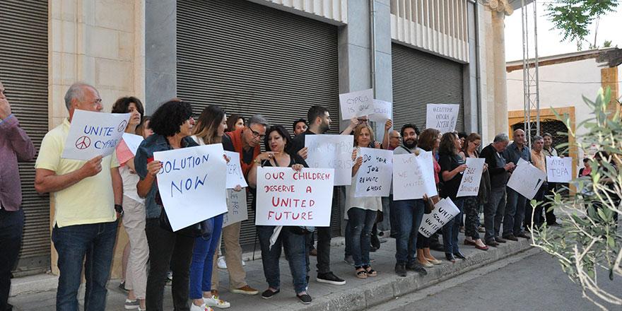 Birleşik Kıbrıs Şimdi, yarın eylemde