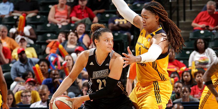 McBride ayağının tozuyla WNBA'de