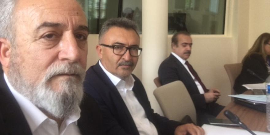 Paris'te Kıbrıs Türk futbolu konuşuldu
