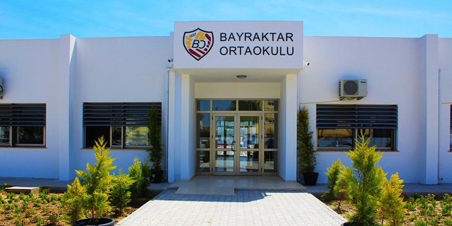 Bayraktar Ortaokulu yeni binası cuma günü açılıyor