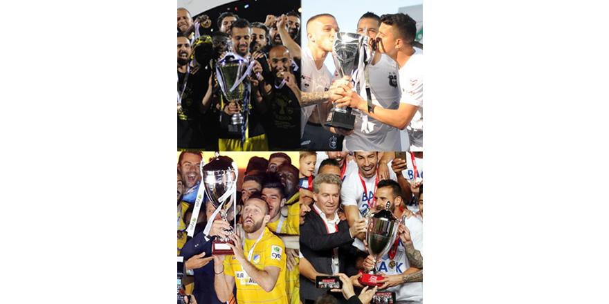 Şampiyonluk başkente Kupalar Limasollulara