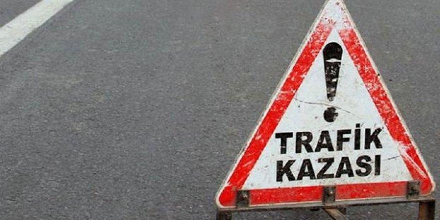 Trafik kazasında 1 ağır yaralı