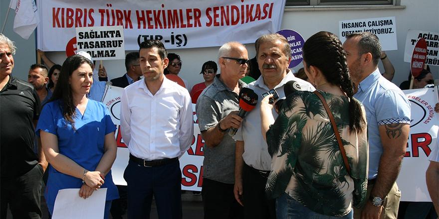 'Sağlık'taki eylem Girne'ye taşındı