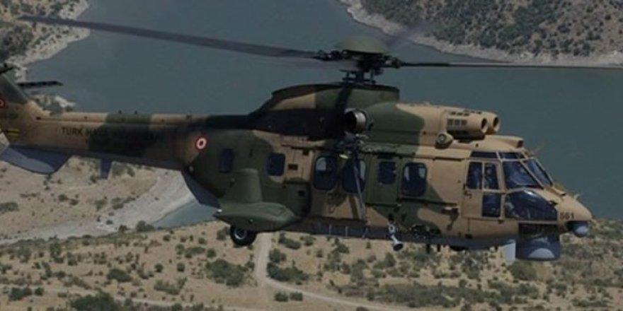 Şırnak'ta askeri helikopter düştü