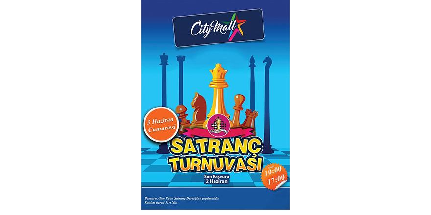 City Mall'da 'Hızlı Satranç Turnuvası' düzenleniyor