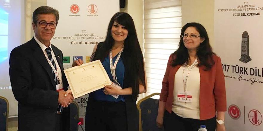 8. Uluslararası Türk Dili Kurultayı'nda temsiliyet