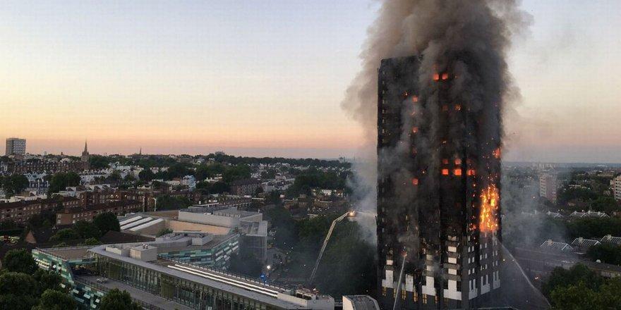 Londra'da büyük yangın... En az 12 ÖLÜ!