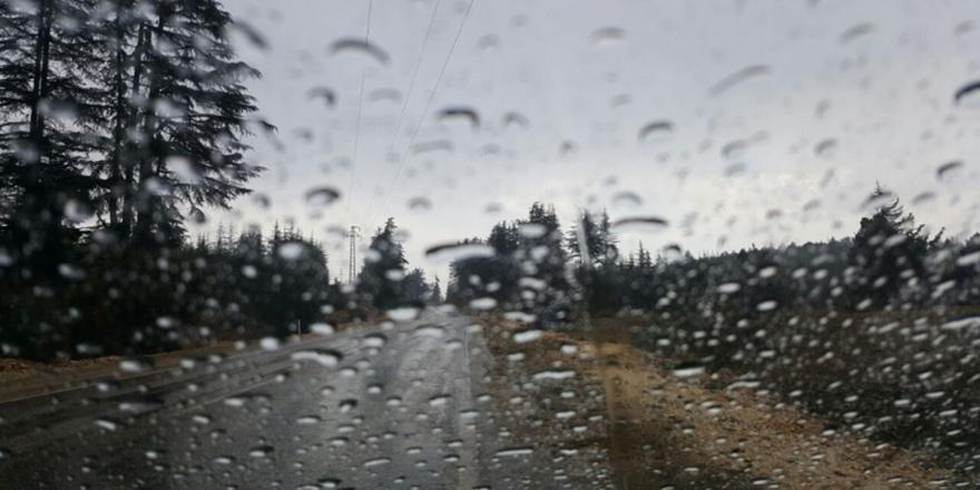 En çok yağış dağlık kesimlere