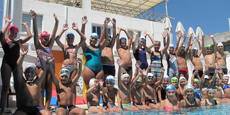Karabetça Spor Kulübü yüzme yaz kursları başladı