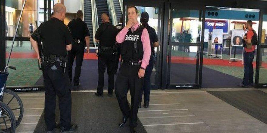ABD'de güvenlik alarmı: Michigan'da havaalanı boşaltıldı