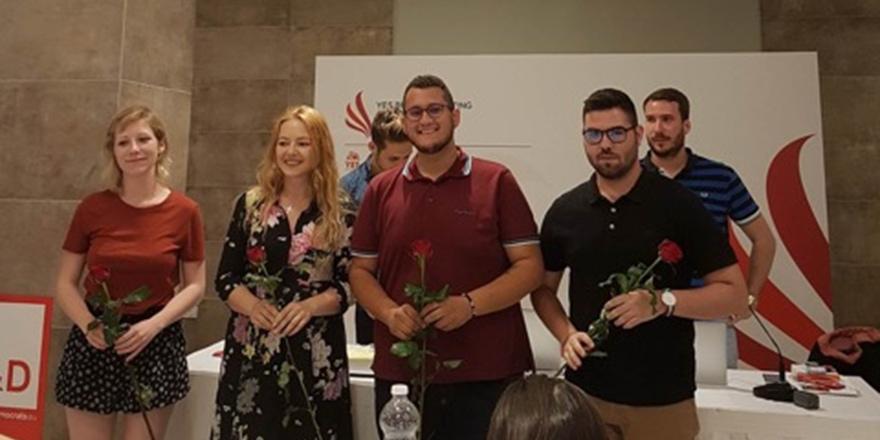 CTP Gençlik Örgütü, Malta'da toplantıya katıldı