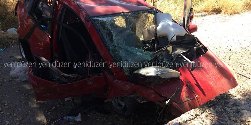 Lapta'da feci kaza: 1 ölü!