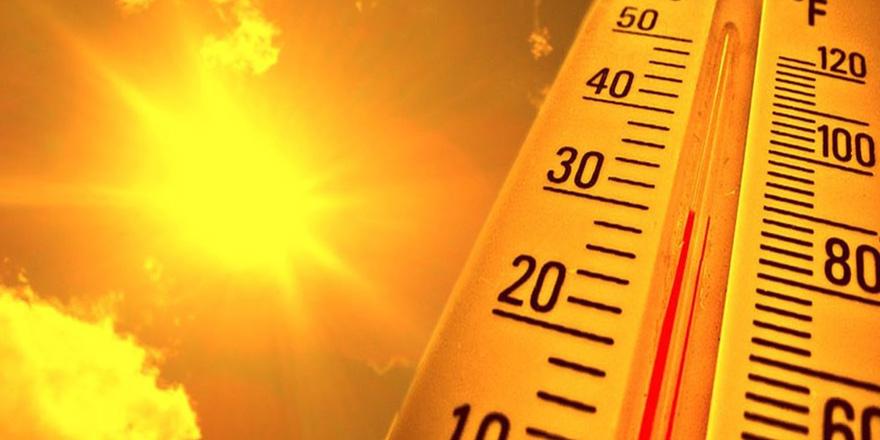 Sıcak hava için 'SARI ALARM'