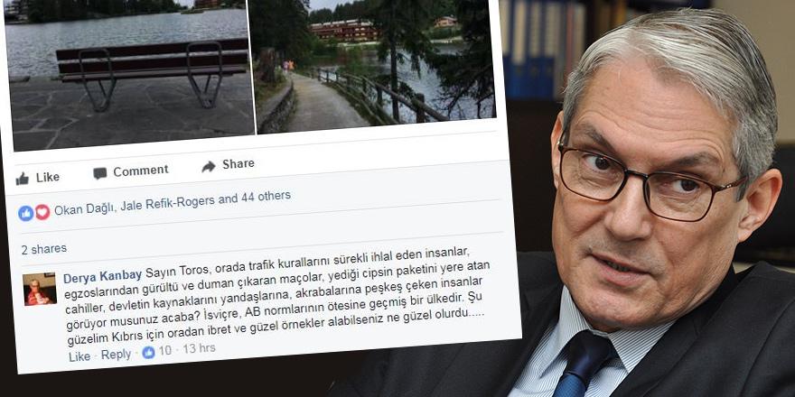 Büyükelçi Kanbay'dan şaşırtan yorum