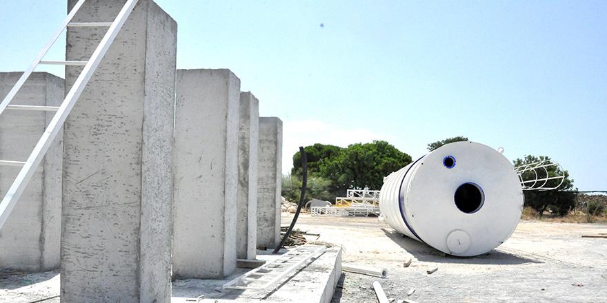 Mobil beton santralinde  geri adım!