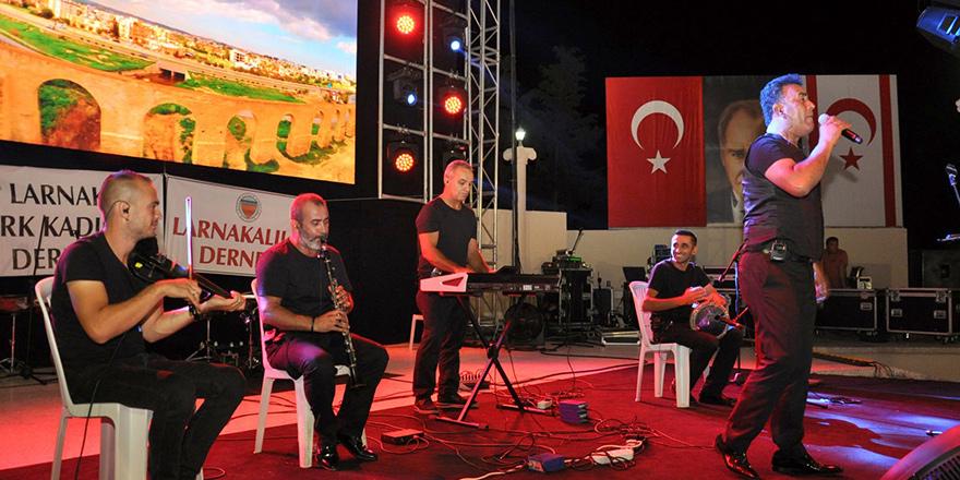 İskele Festivali'nde Larnakalılar Gecesi