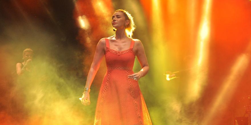 40. Güzelyurt Portakal Festivali Sıla konseriyle sona erdi