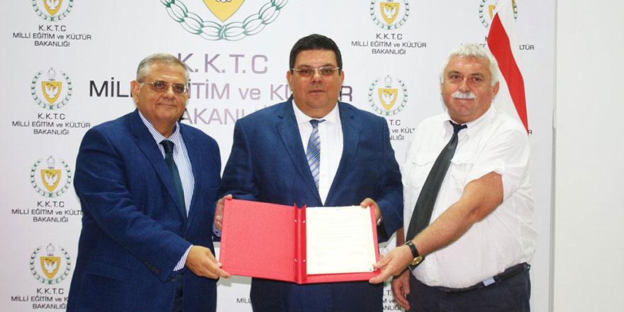 Eğitim Bakanlığı ile DAÜ prokol imzaladı
