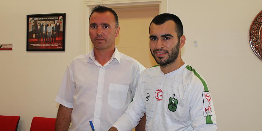 Turgut Kaan Çoban İmzayı attı