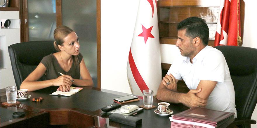 """Alsancak Belediye Başkanı Fırat Ataser: """"Çevre yolu en büyük sıkıntımız"""""""