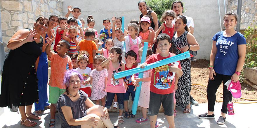 Resmin ustası Montessori çocuklarını ağırladı