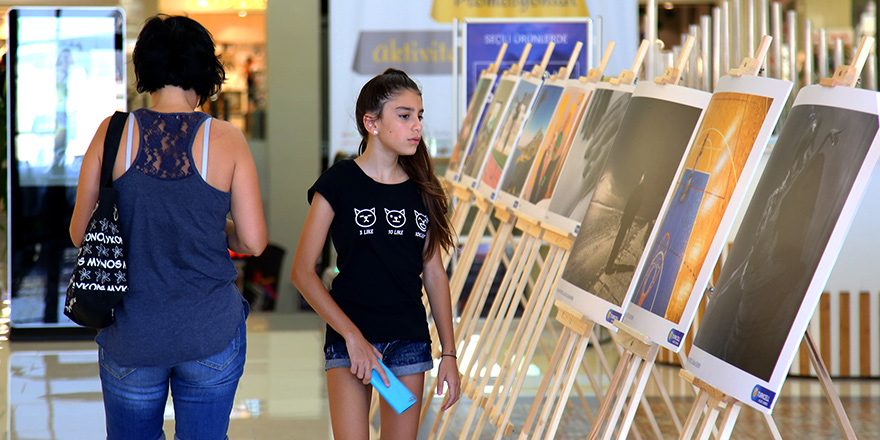 """Sanat Engel Tanımaz"" City Mall'da"