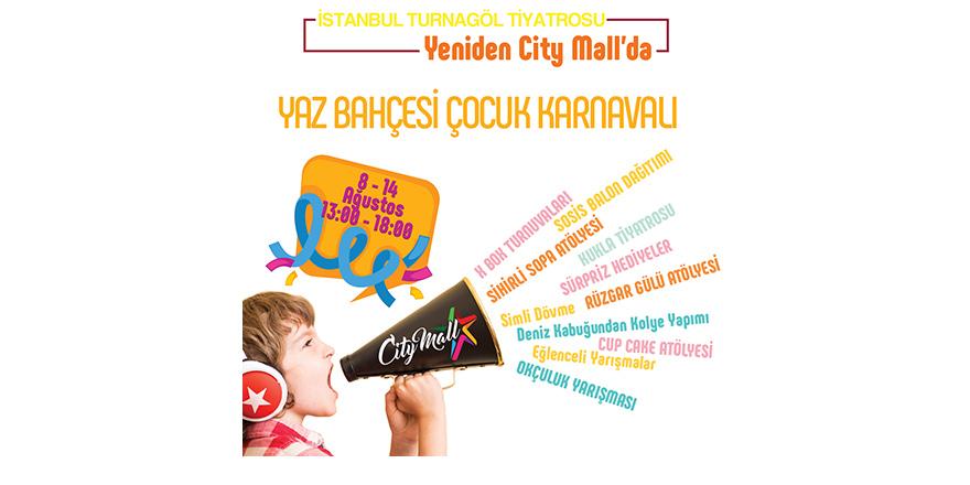 City Mall Çocuk Karnavalı başlıyor
