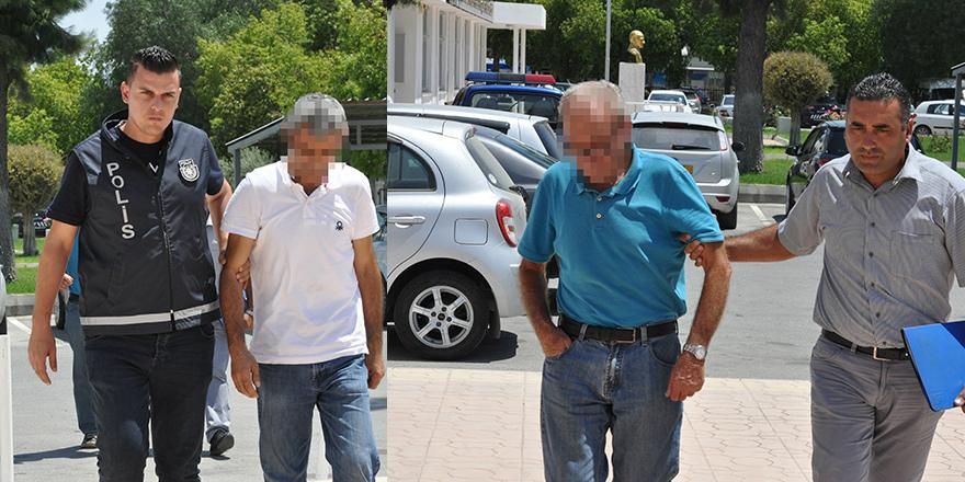 'Kireç taşı ararken' tutuklandılar!
