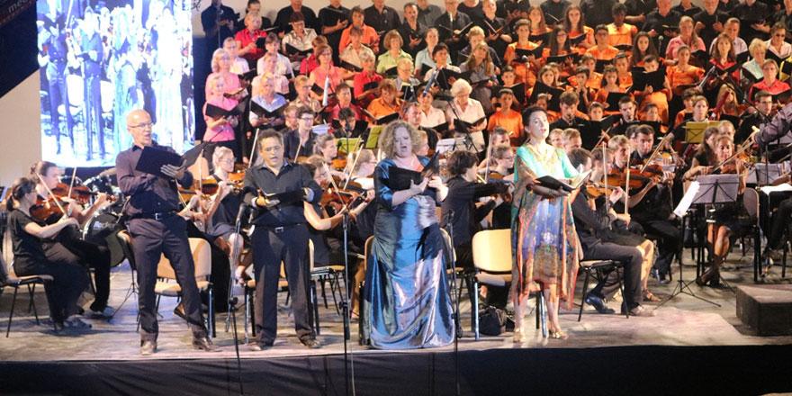 Beethoven konseri büyüledi