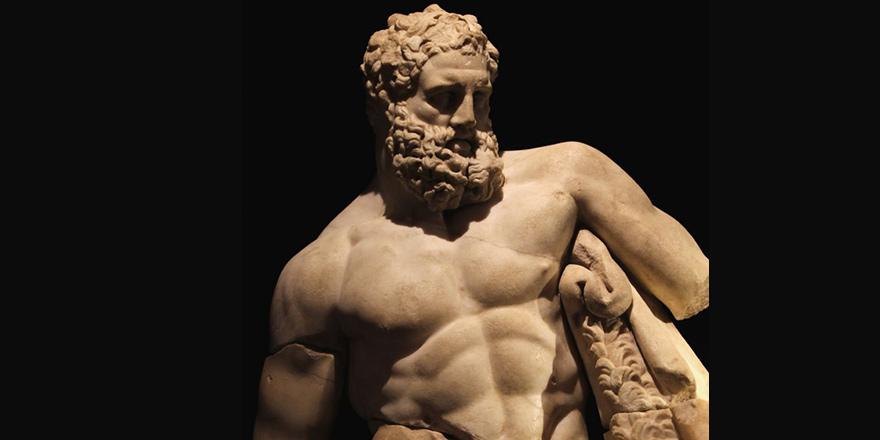 Yorgun Herakles, geri döndü