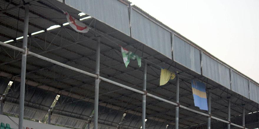 Turnuva bitti, bayraklar kaldı!