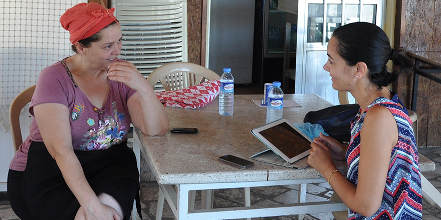 Kıbrıs'ın yerel tatlarına hayat veriyor;  Kebapçıoğlu Restorant