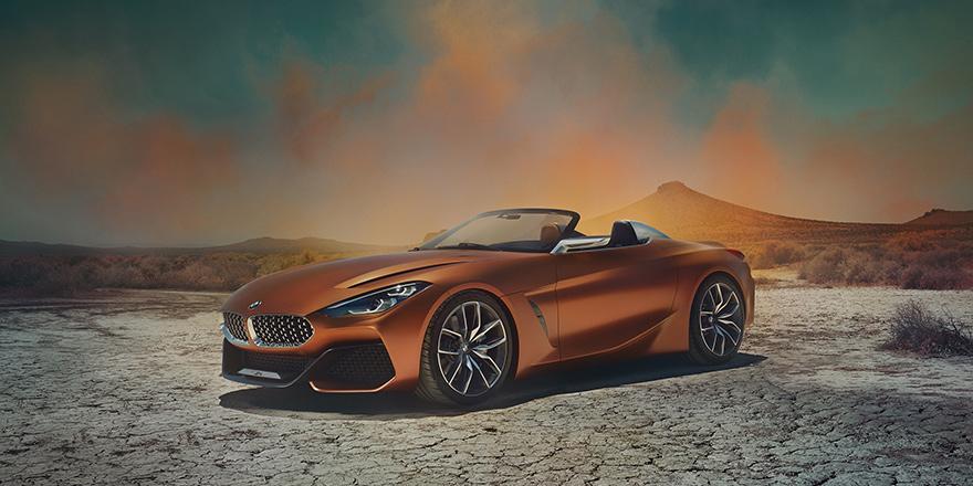 Yeni BMW Z4, konsept modeliyle karşımızda