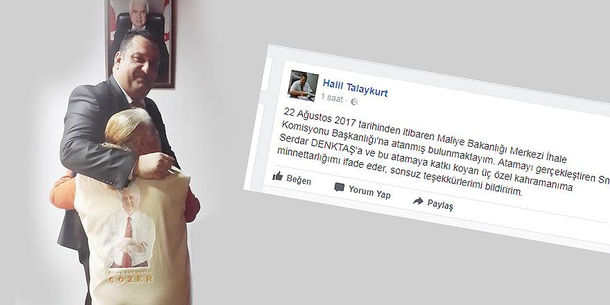 '3 ÖZEL KAHRAMANIMA VE DENKTAŞA MİNNETTARIM'