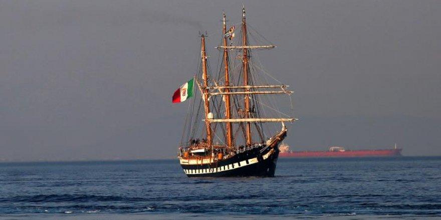 Tarihi İtalyan Donanma Yelkenlisi 'Palinuro' Kıbrıs'ta