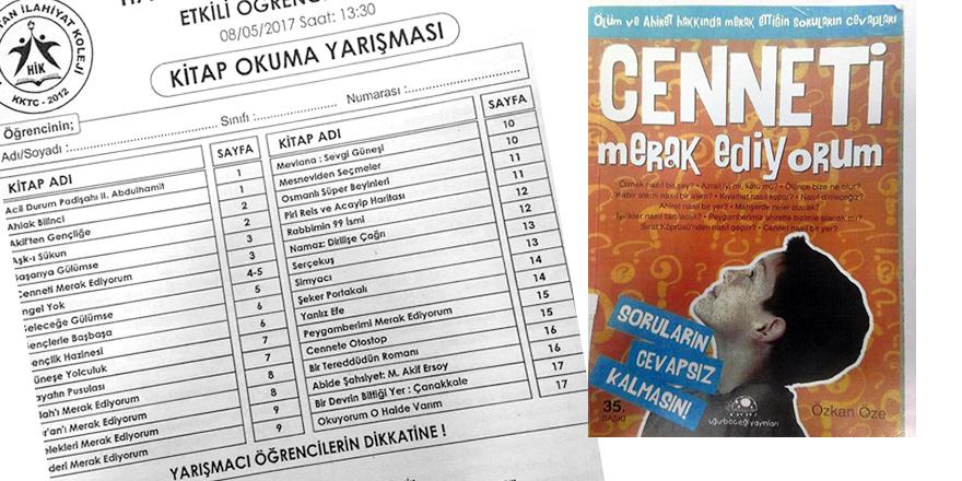 EĞİTİM BAKANI'NA 'AHİRET' SORULARI