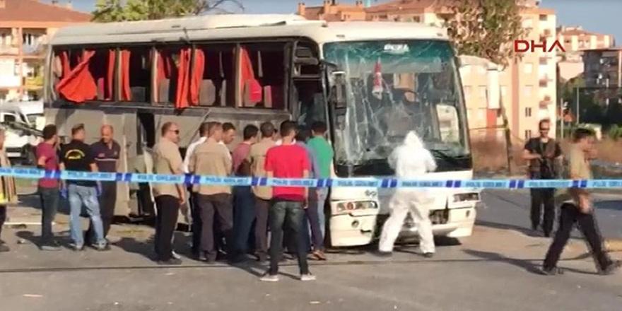 İzmir'de patlama meydana geldi