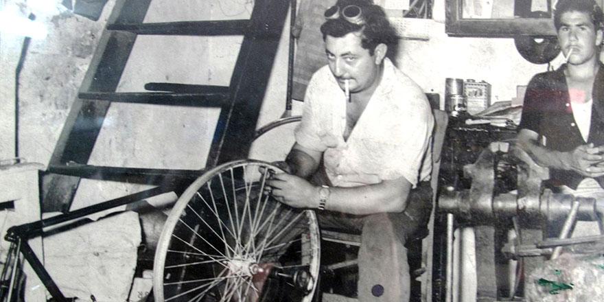 Bisikletçi Köse'ye veda