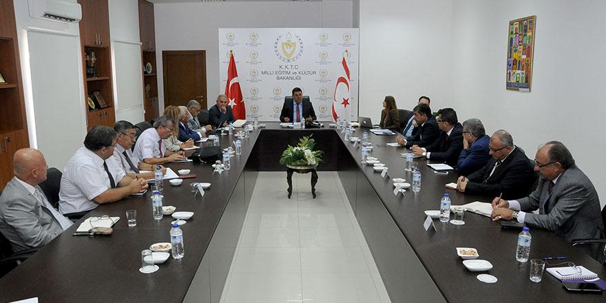Özdemir Berova değerlendirme toplantısı yaptı