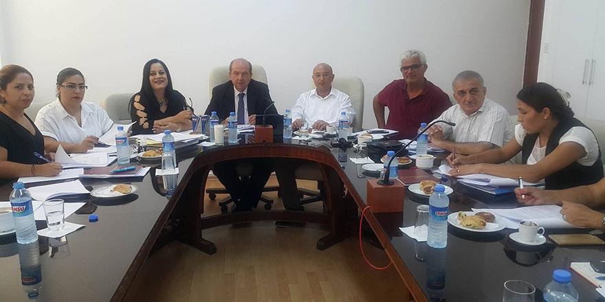 Bütçe ve Plan Komitesi toplandı