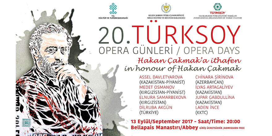 20. Türksoy Opera Günleri Başlıyor
